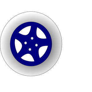 Racing Wheels Illustration icon png