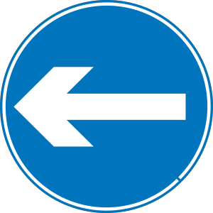 Left Blue Arrow icon png