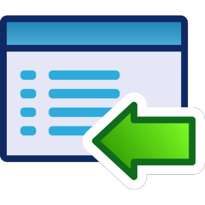 Green Menu Icon Set Left icon png