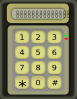 Simple Calculator Without Function Buttons icon png