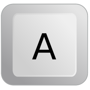 A Keyboard Button icon png