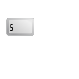 Search Button Keyboard Verdana icon png