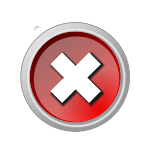 Cancel icon png