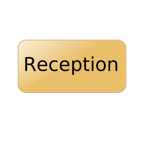 Reception Gold Button icon png