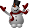 Happy Snowman icon png