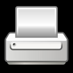 Printer Button icon png