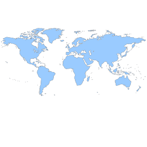 World label Border icon png