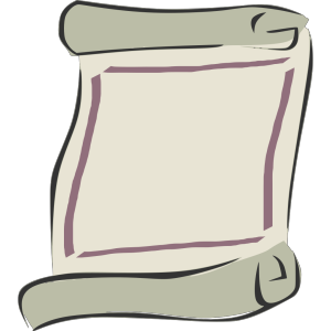 Scroll Outline icon png
