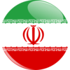 Iran Flag Button icon png