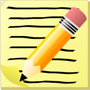 Notepad Icon icon png