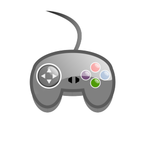 Game Controller Outline icon png