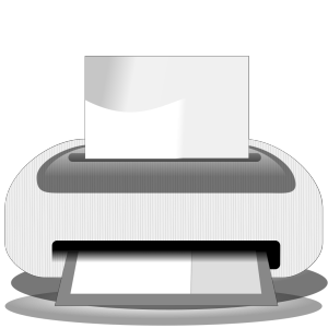 Etiquette Printer icon png