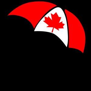 Canada Flag Umbrella icon png