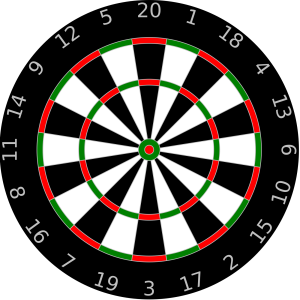 Dartboard icon png