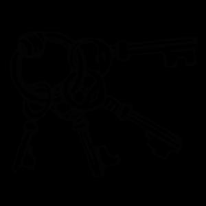 Keyring Key Ring icon png