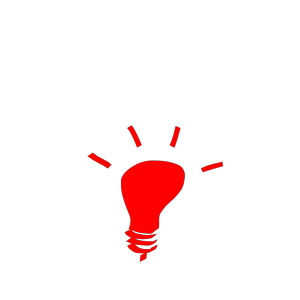 Idea Light Bulb design