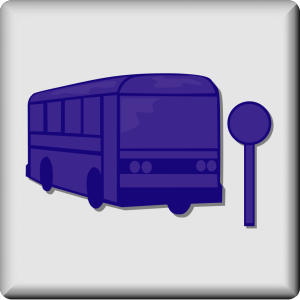 Hotel Icon Bus Stop icon png