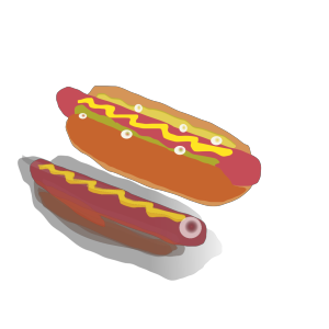 Hot Dog Sandwich  icon png