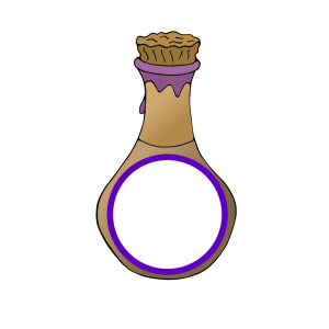 Baby Blue Bottle icon png