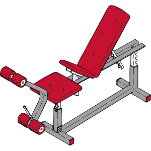 Exercise Bench icon png