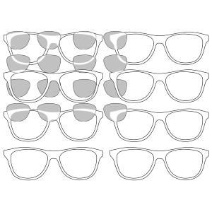 Sunglasses Outline icon png