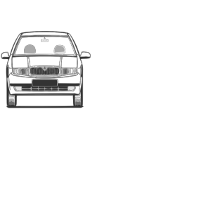 Fabia Front View icon png