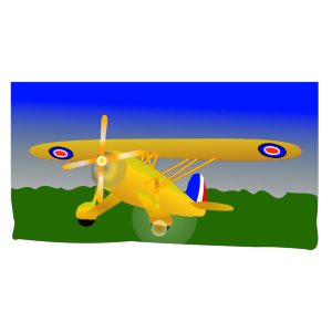 Propeller Plane icon png