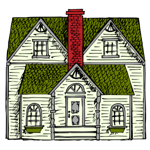 Victorian House icon png