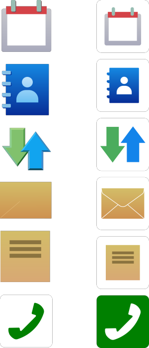 Exclamation Icons icon png