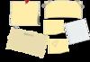 Kattekrab Dragonfly Notepaper icon png