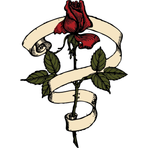 Rose Scroll icon png
