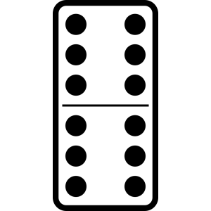 Domino Set 27 icon png