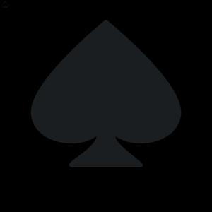 Rocket Emblem Spade icon png