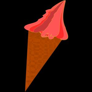Wild Berry Ice Cream Cone icon png