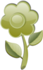 Green Flower icon png