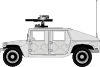 Armed Hummer icon png