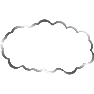 White Cloud icon png