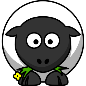 Cartoon Sheep icon png