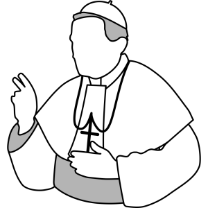 Pope icon png