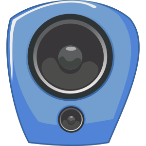 Loudspeaker In Comic Style icon png