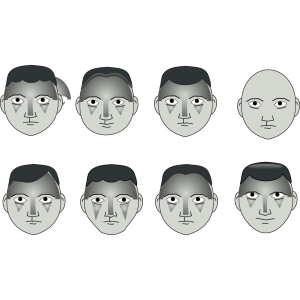 Human People Cartoon Heads icon png