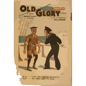Old Glory A Story Of Our  Blue Jackets  In Chili [i.e. Chile] By Chas. T. Vincent. icon png