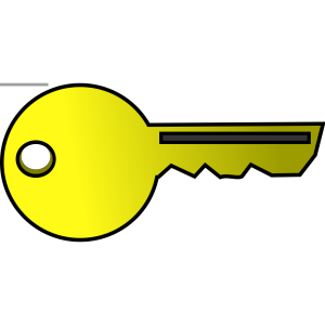 Golden Key icon png