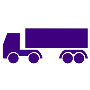Tow Truck With Snow Plow icon png
