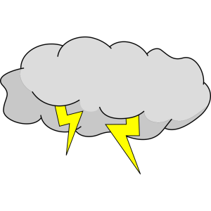 Storm Cloud icon png