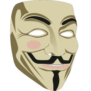 Guy Fawkes Mask icon png