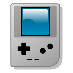 Game Console Controller Outline icon png