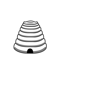 Bee Hive Outline icon png