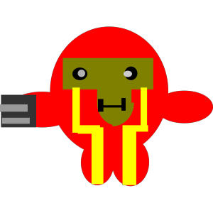 Cartoon Robot icon png