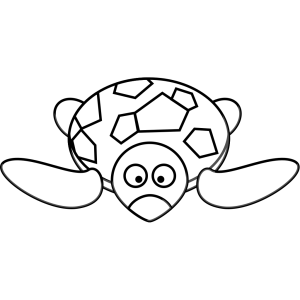 Turtle Outline icon png